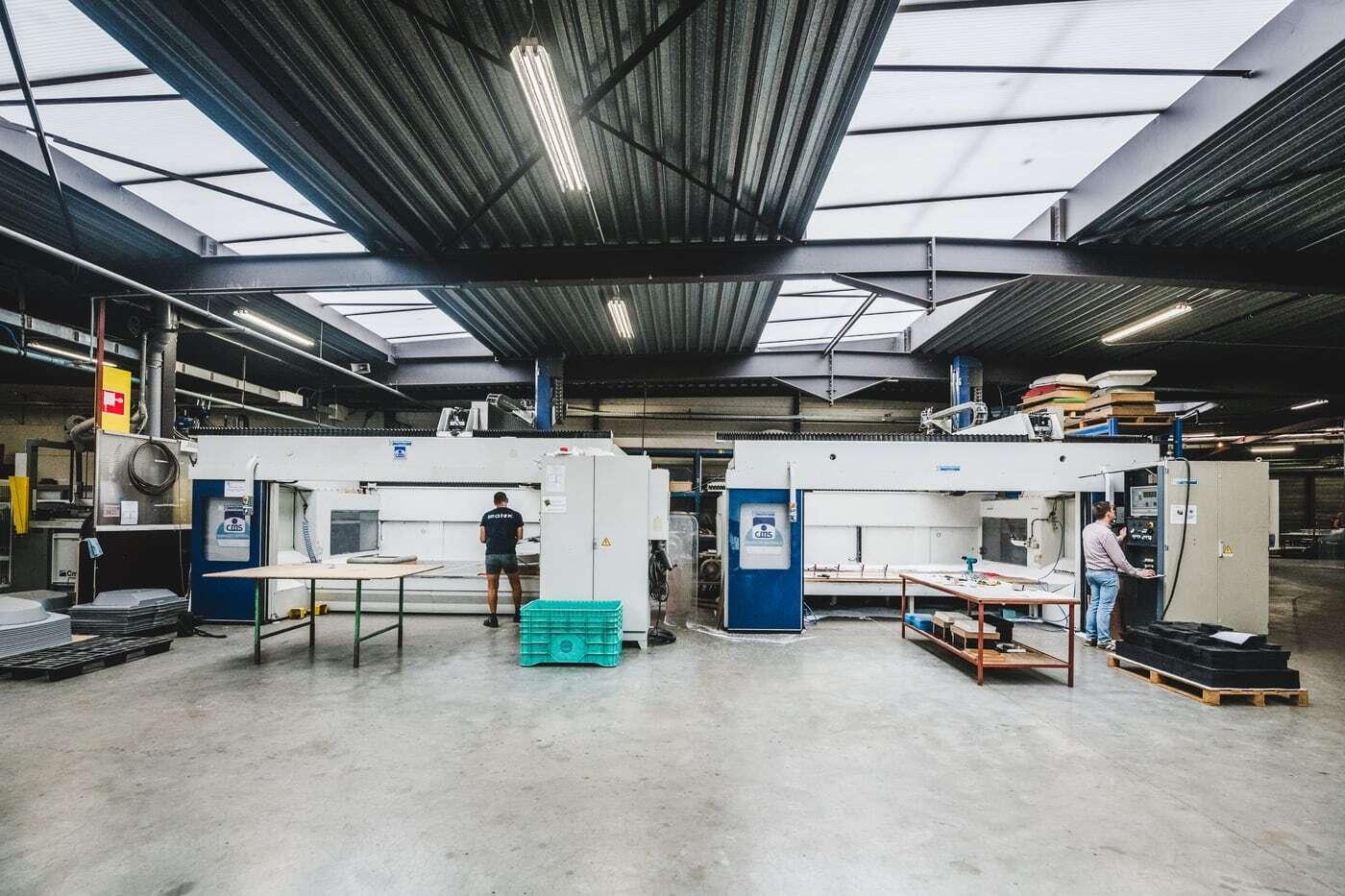 Imatex processing: CNC Milling