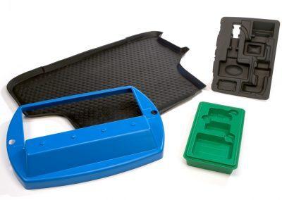 Enkele voorbeelden van de toepassingen van het vacuumvormen